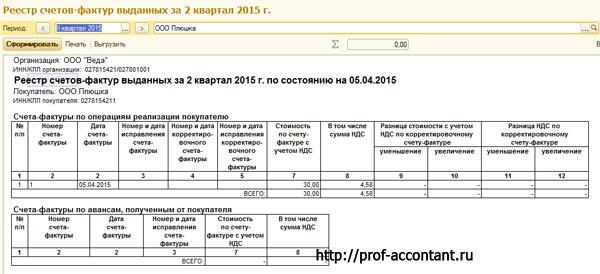 Автоматическая проверка счетов-фактур в 1С Бухгалтерия 8